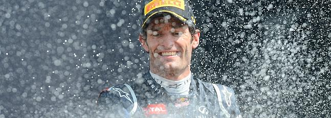 Mark Webber renueva con Red Bull   hasta el 2013