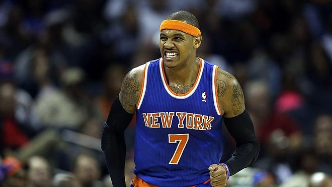 Carmelo Anthony renueva con los Knicks