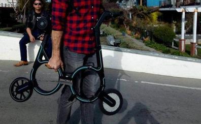Smacircle S1, la bicicleta eléctrica plegable más pequeña del mundo