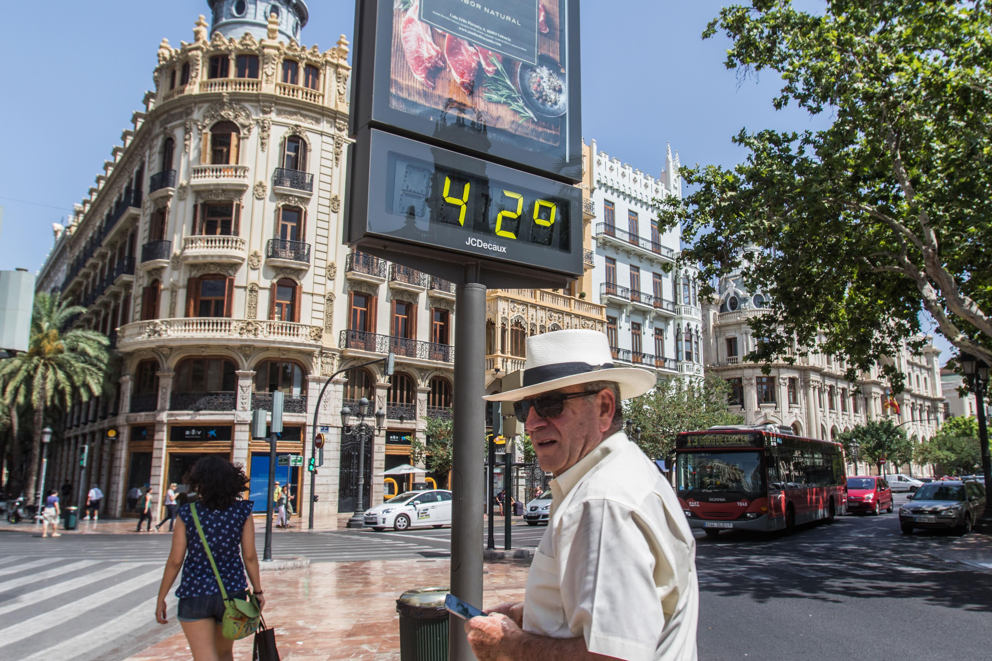 Ola de calor y alerta en la Comunitat Valenciana