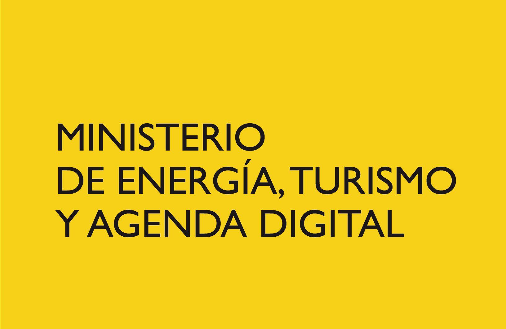 Ministerio de Energía, Turismo y Agenda Digital