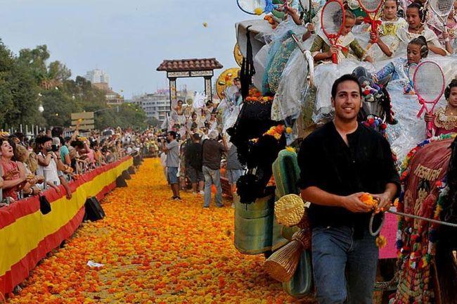 Batalla de Flores de Valencia