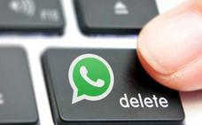 Pronto se podrán borrar mensajes definitivamente en Whatsapp