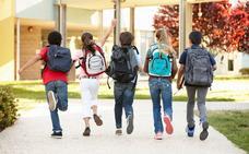 Consejos para que la mochila no dañe la espalda de tu hijo