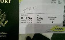 ¿Qué es el misterioso código 'SSSS' ubicado en algunas tarjetas de embarque?