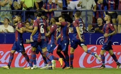 Levante UD | José Luis Morales comanda la victoria granota