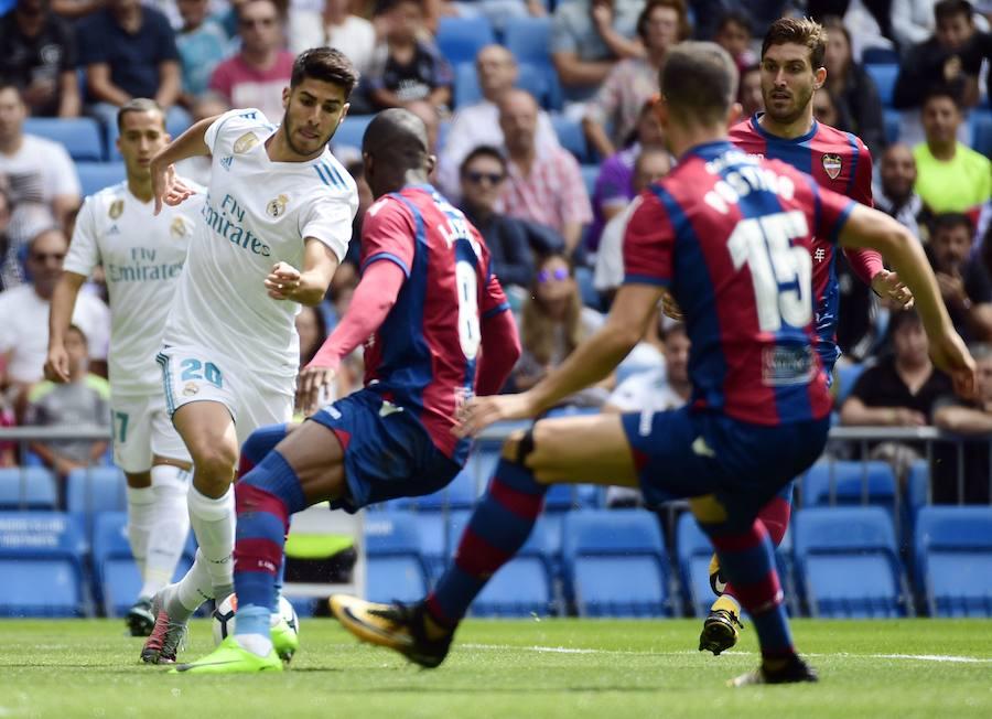 Fotos del Real Madrid - Levante UD del Santiago Bernabéu