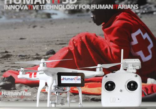 Los drones finalistas de 'Drone for Good'
