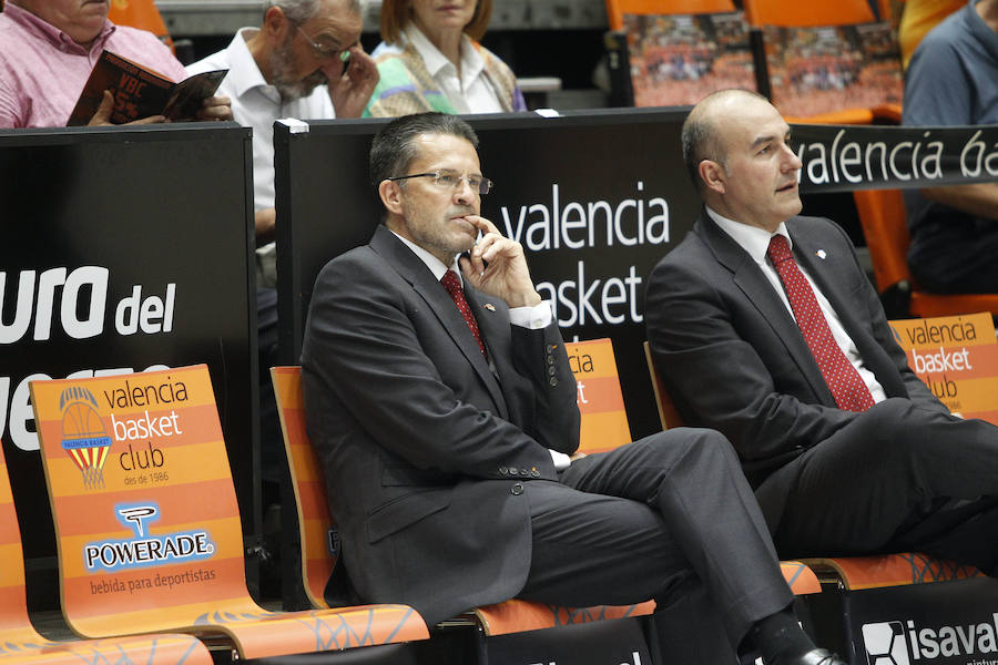 Fotos del Valencia Basket-Real Madrid en la Fonteta