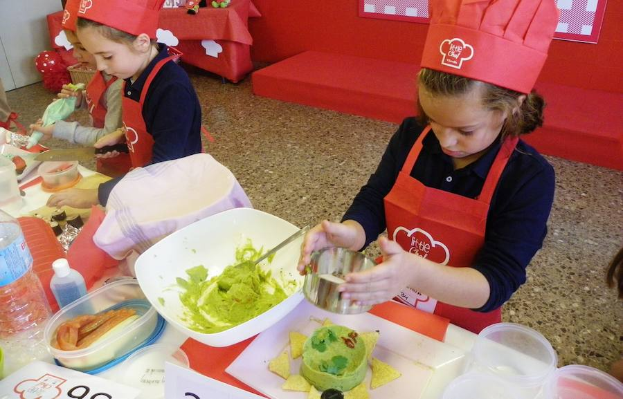 Fotos de la II edición del concurso 'Little Chef'