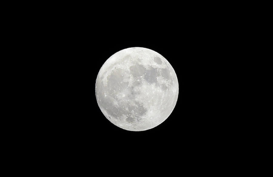Así se ve la superluna 2016