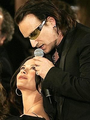 Catherine Zeta-Jones y Bono