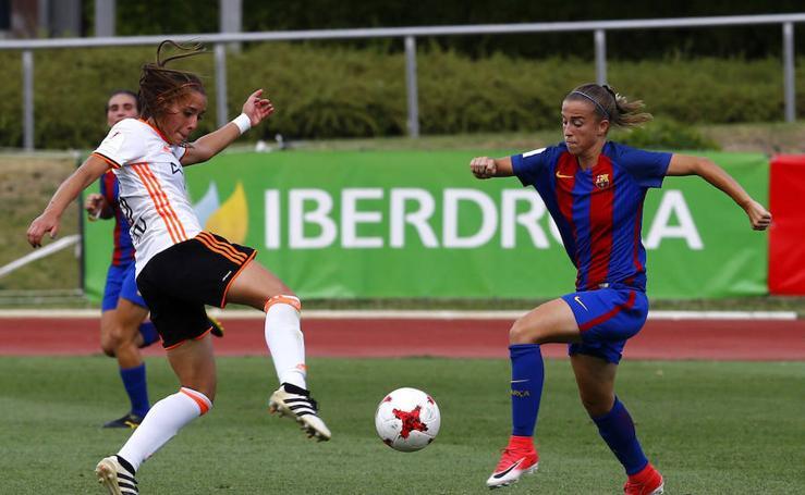 Fotos del Valencia - Barcelona femenino