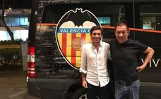 Valencia CF | Peter Lim y Marcelino García Toral, fotografiados juntos por primera vez