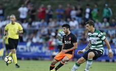El Valencia CF con orden y disciplina