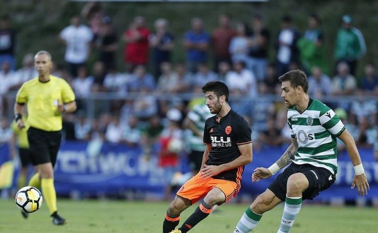 Fotos del Sporting CP - Valencia CF