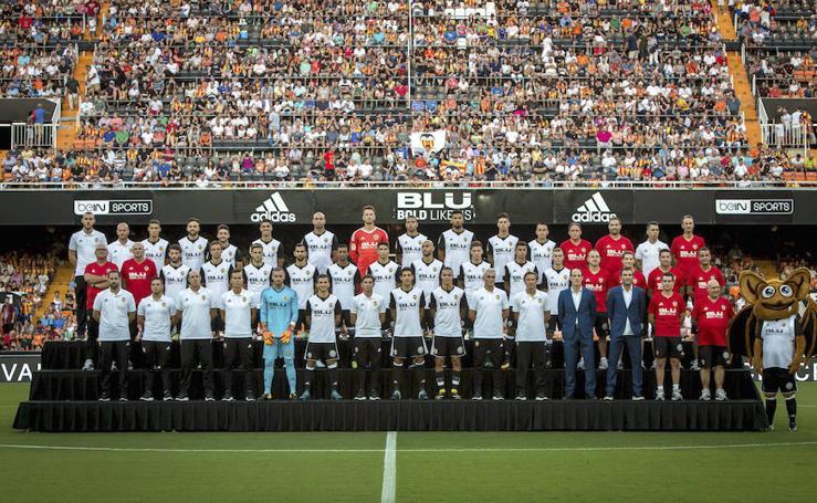 Fotos de la presentación del Valencia CF