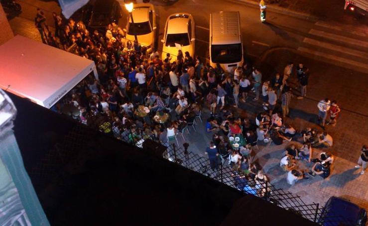 Fotos del ruido por el botellón en Valencia
