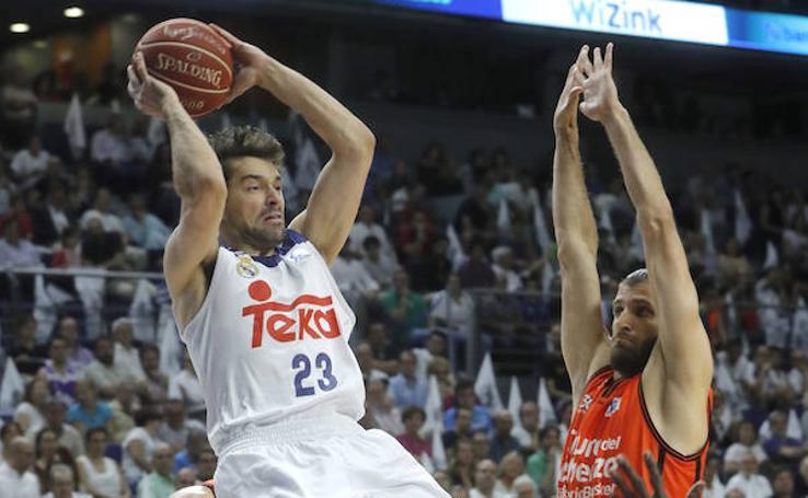 Fotos del Real Madrid - Valencia Basket
