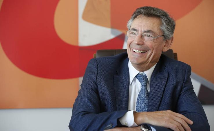 Fotos de Juan Luis Durich, director general de Consum