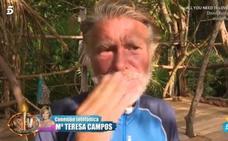 Bigote Arrocet rompe a llorar tras el mensaje de M.ª Teresa Campos: «Te amo»