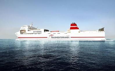 Trasmediterranea inaugura la conexión de verano Gandia-Ibiza de alta velocidad