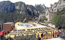 Montserrat, la montaña sagrada del catalanismo