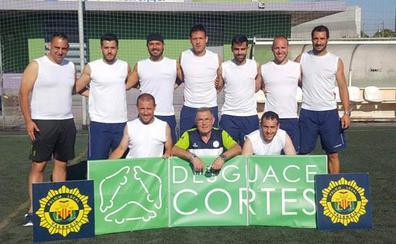 La Policía Local de Valencia gana un campeonato nacional de fútbol 7