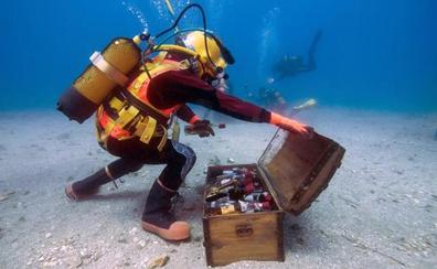 Vino a cuarenta metros bajo el mar