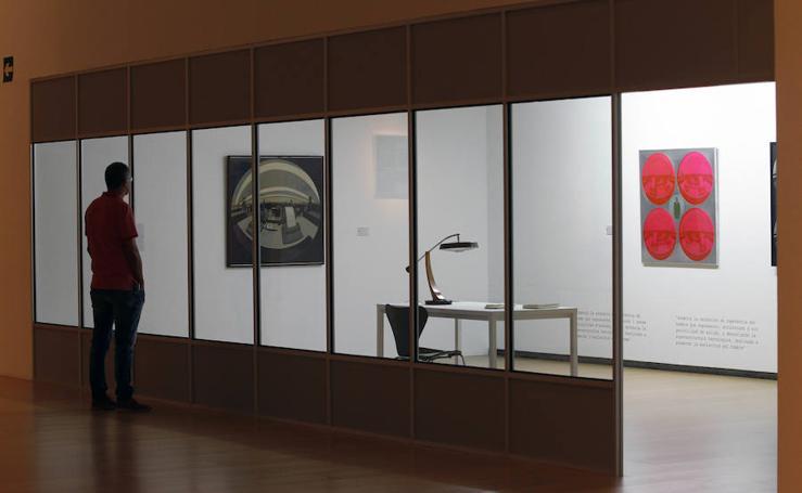 Fotos de la exposición de Anzo en el IVAM