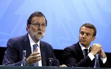 Rajoy pide claridad contra el proteccionismo y pone a España de ejemplo económico