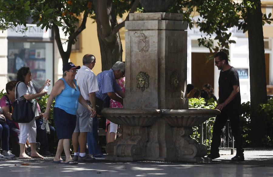 Fotos del calor en Valencia