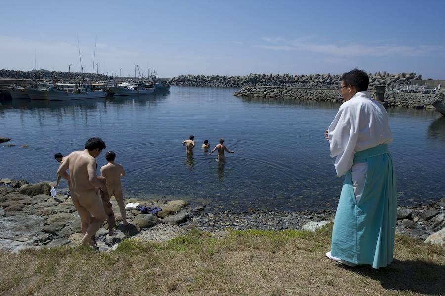 Fotos de la isla japonesa de Okinoshima