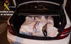 Un detenido y 280 kilos de hachís intervenidos en Sagunto