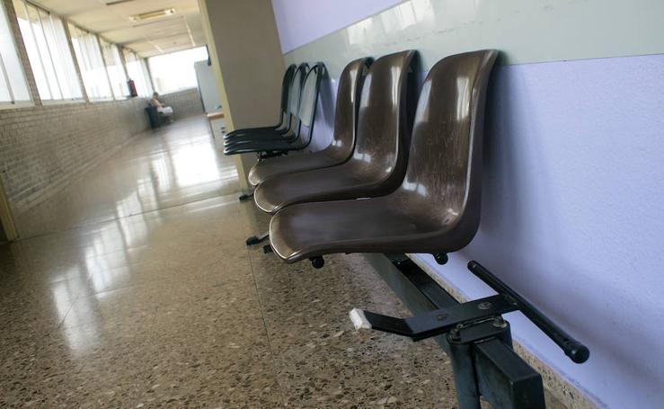Fotos del deterioro en el Hospital de Sagunto