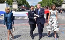 Macron afirma que Trump podría revertir su decisión de abandonar la alianza climática