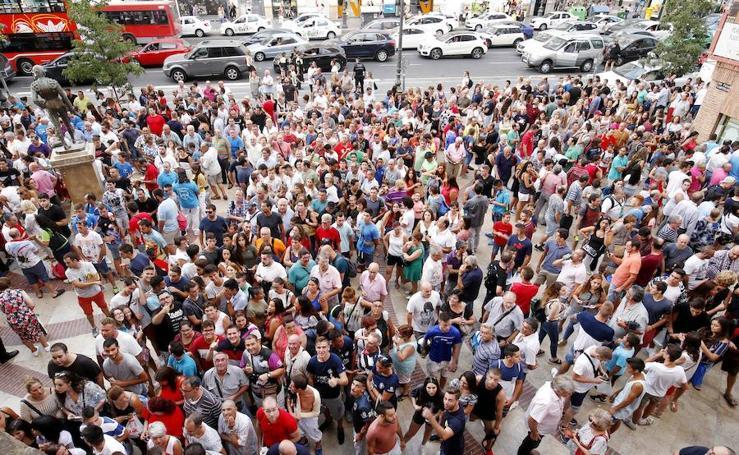 Fotos del acto de reivindicación taurina en la plaza de toros de Valencia