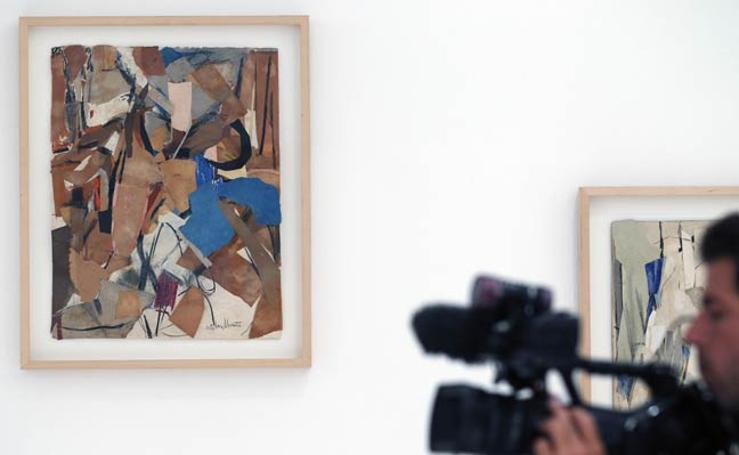 Fotos de la exposición del IVAM 'La eclosión de la abstracción'
