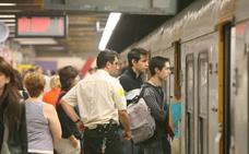 El PP denuncia que FGV ha fijado limitaciones temporales de velocidad en varios tramos del metro por «mal estado de la vía»