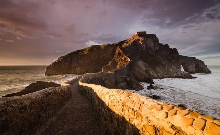 Fotos de San Juan de Gaztelugatxe, en Bermeo (Vizcaya)