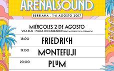 El cartel del Arenal Sound 2017 en Vila-real confirma a Friedrick, Montefuji, Plum y Polock