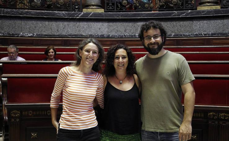 Fotos del pleno extraordinario par la toma de posesión de la concejal Neus Fábregas de València En Comú