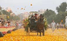 Horario, recorrido y calles cortadas de la Batalla de Flores de Valencia 2017