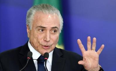 La base de Temer impide que el mandatario brasileño sea enjuiciado por corrupción