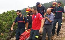 Rescatada una mujer lesionada en el pico Penyagolosa