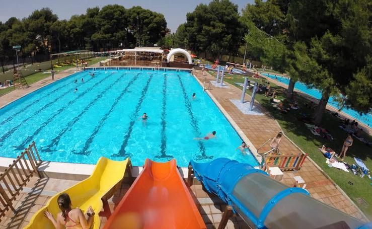Fotos de las piscinas municipales de Valencia