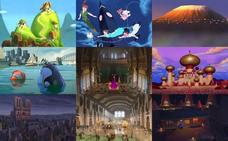12 películas disney que se inspiraron en lugares reales