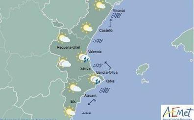 El tiempo en Valencia, Alicante y Castellón   Emergencias da por finalizada la alerta por lluvias en Alicante y Valencia