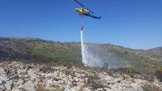 Extinguidos los incendios de Benissa y Buñol