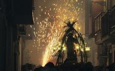 Tributo a la pólvora en Serra con motivo de Sant Roc